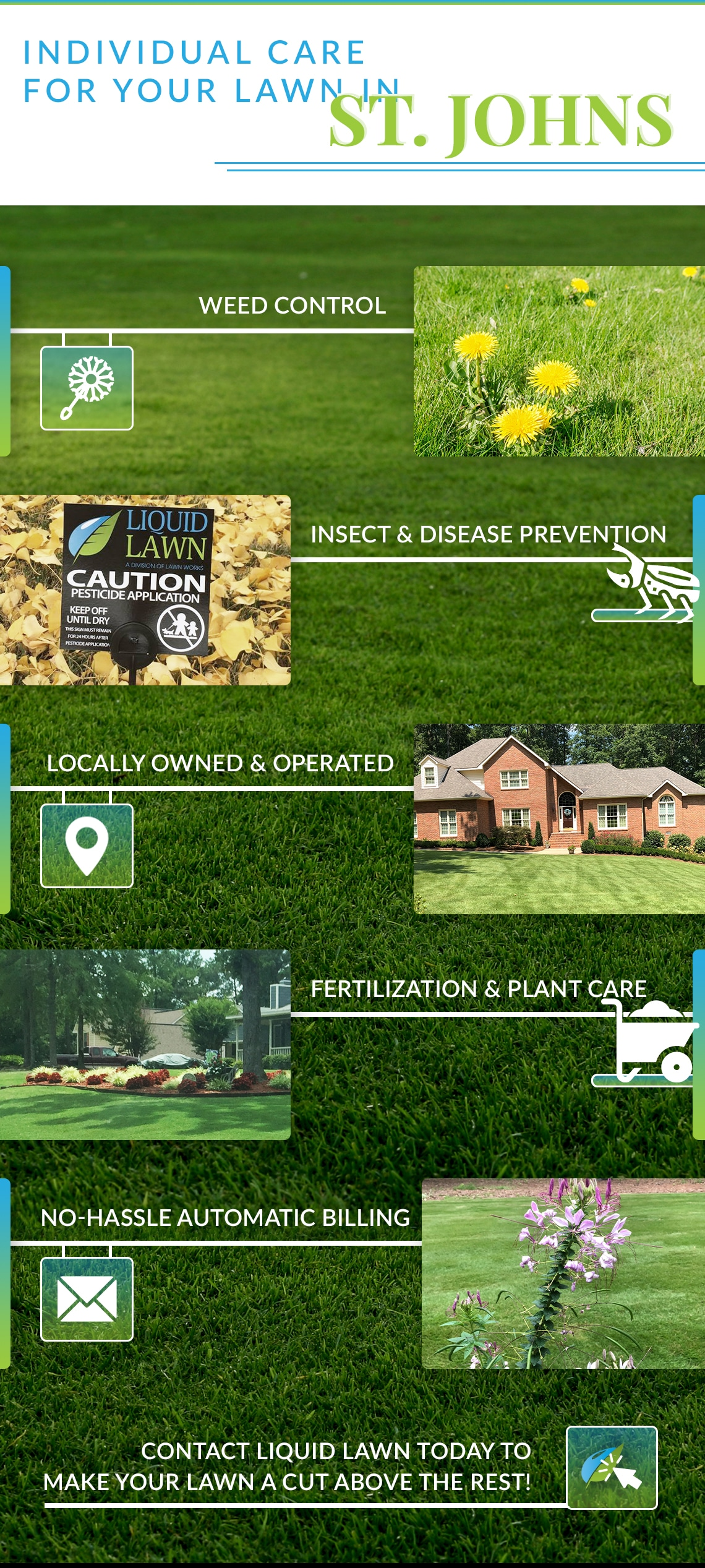 2ST Johns Lawn Care